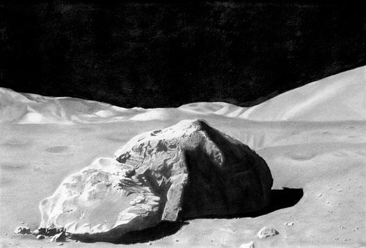 New-Frontier-fusain-et-graphite-sur-papier-75-x-110-cm-2015